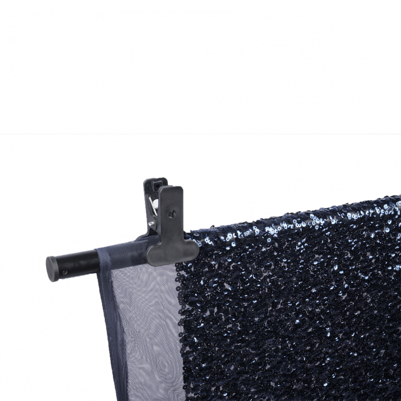 Glitter Navy 200 x 150 cm