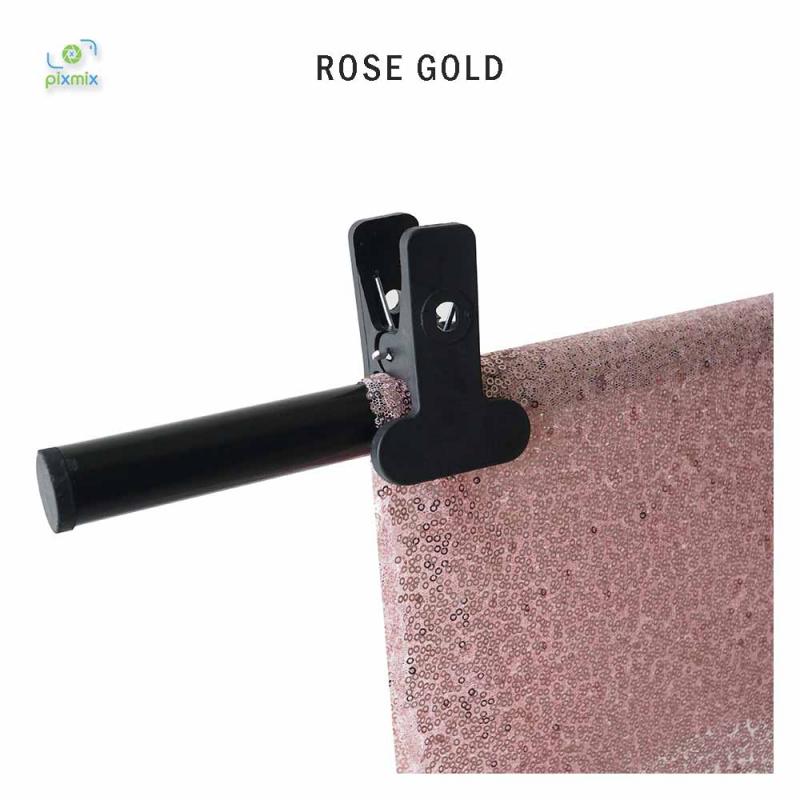 Glitter Rose Gold 100 x 150 cm