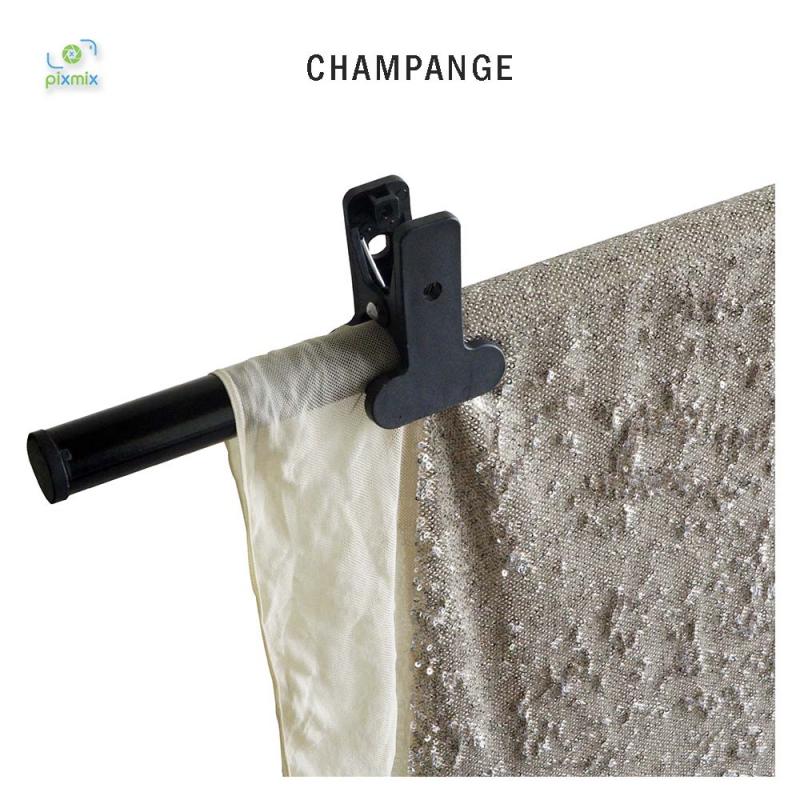 Glitter Champange 300 x 150 cm