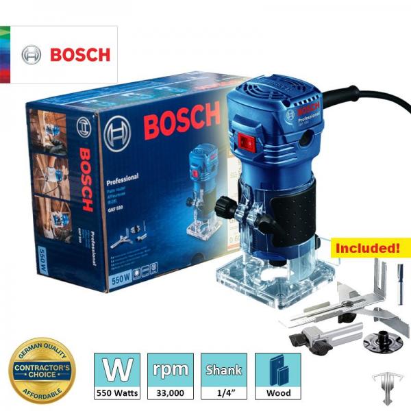 Bosch GKF 550 Mesin Trimmer Router