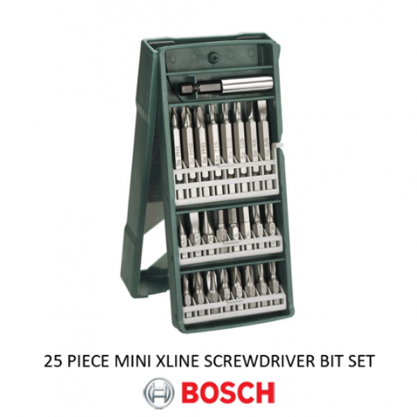 Mata Obeng Set / Screwdriver Bit Set 25pcs X-line BOSCH