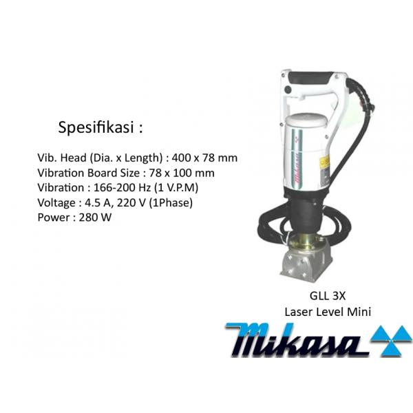 MIKASA External Vibrator Motor MGZ-F100A