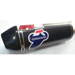 Knalpot Slip on Termignoni Slip on Kawasaki Z800 Stainless Carbon