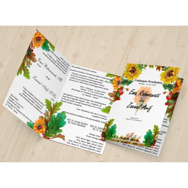 rumah undangan undangan ornamen bunga 002 rumah undangan undangan ornamen bunga 002