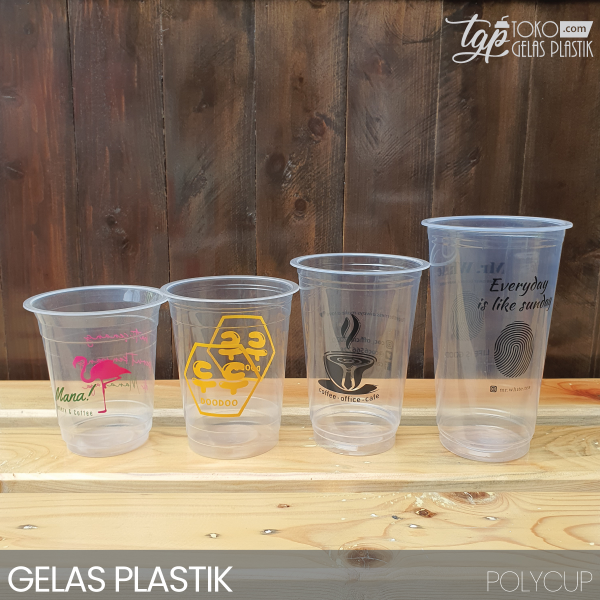 Gelas Plastik 8 GR