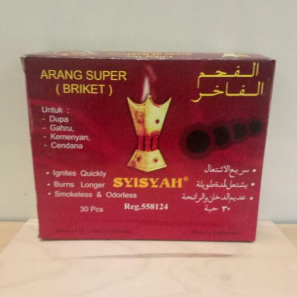 ARANG BRIKET super syisyah 30pcs