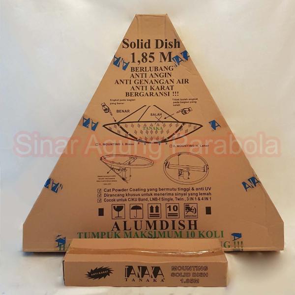 Antena 6 feet Tanaka Solid Alumdish