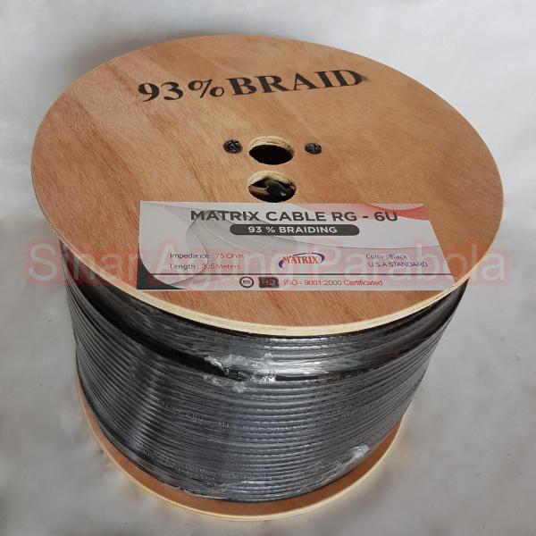 Kabel RG6 93% Matrix