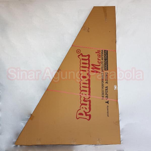 Antena Parabola Solid 6 feet Paramount Merah Jaring