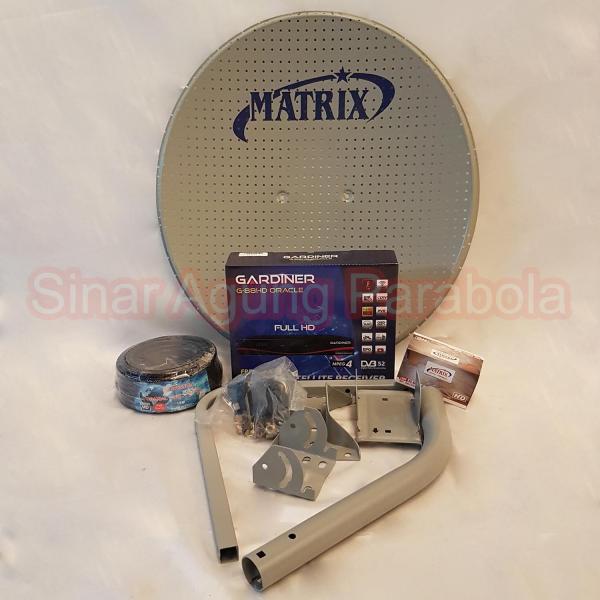 Paket Ninmedia Gardiner Oracle Dan Parabola 45cm ODU