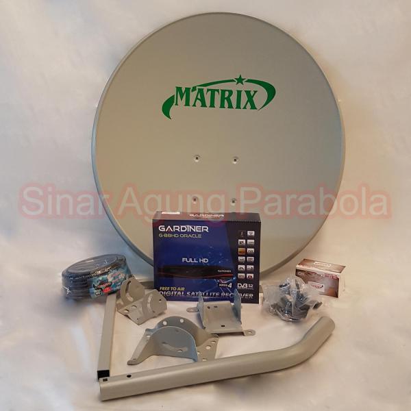 Paket Ninmedia Gardiner Oracle Dan Parabola 60cm ODU