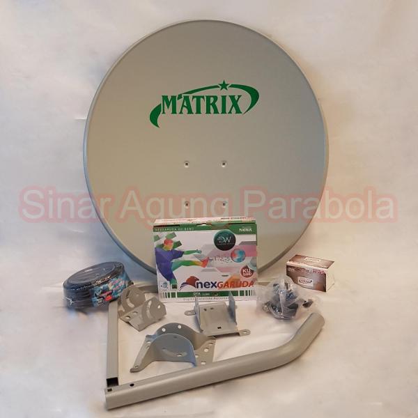 Paket NexGaruda Hijau dan Antena Matrix 60cm ODU Bolong Bolong