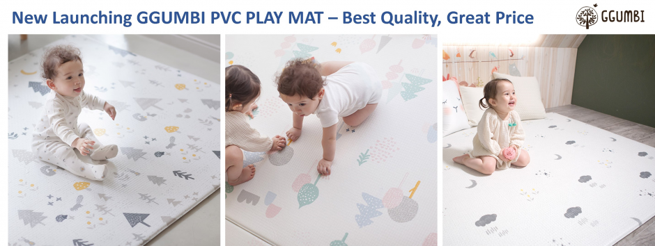 Ggumbi PVC - Licoco PVC Play Mat Launching Indonesia