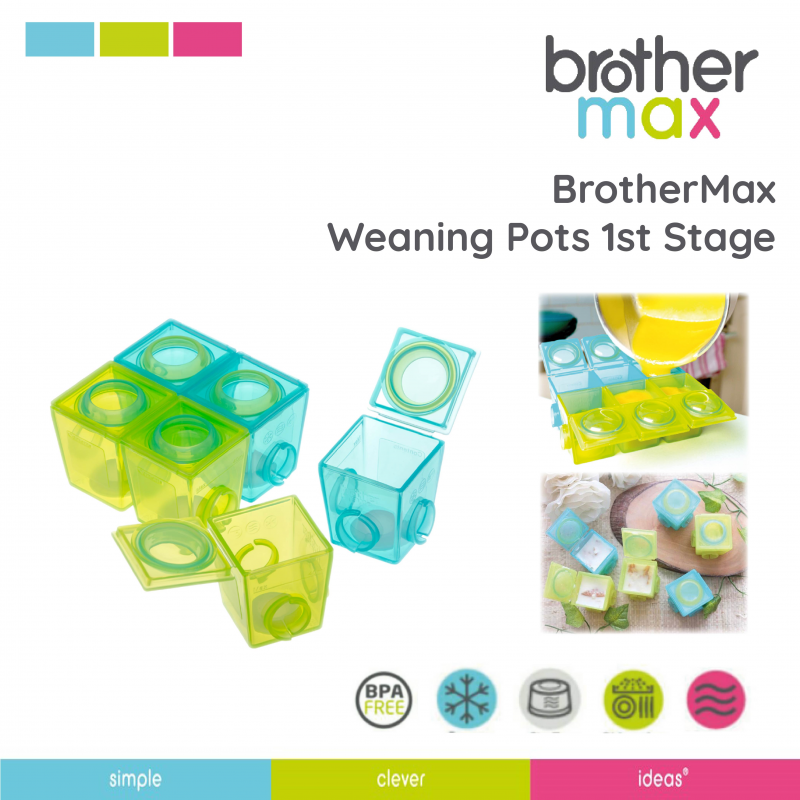 1st Stage Weaning Pots