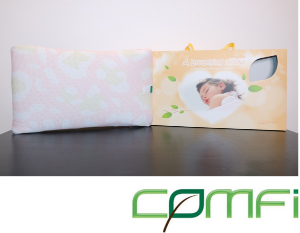 Comfi Kids Breathing Pillow - Pink