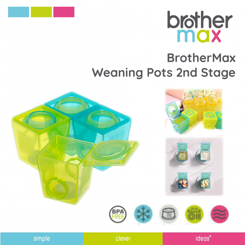 2nd Stage Weaning Pots