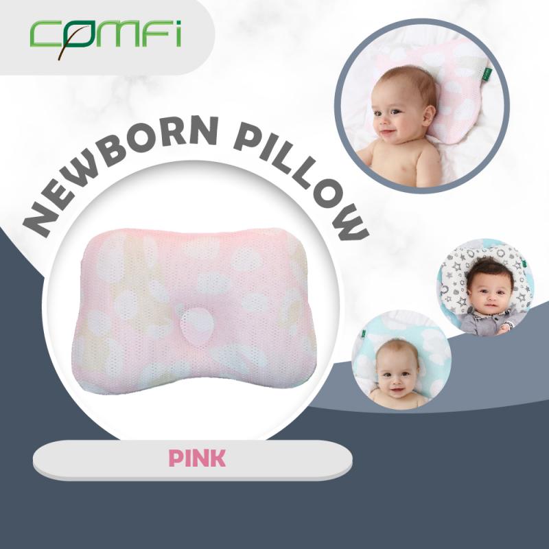 Comfi Newborn Pillow - Pink