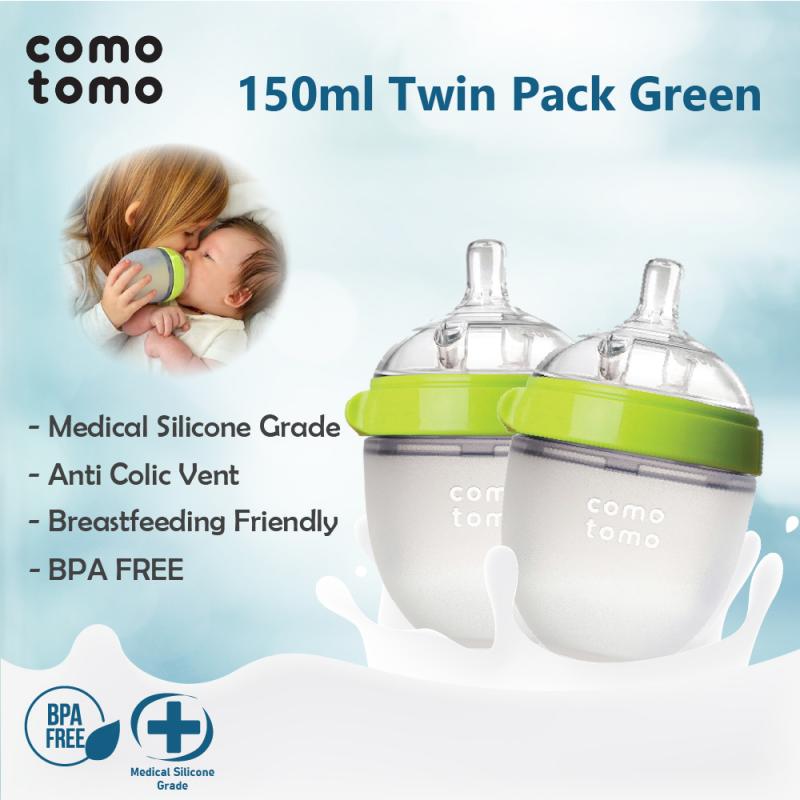 Comotomo : Green 150 ml Twin Pack