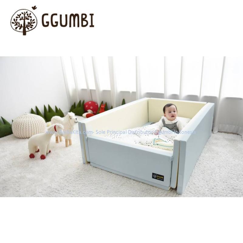 Ggumbi Indie Blue 12in1 Bumper Bed