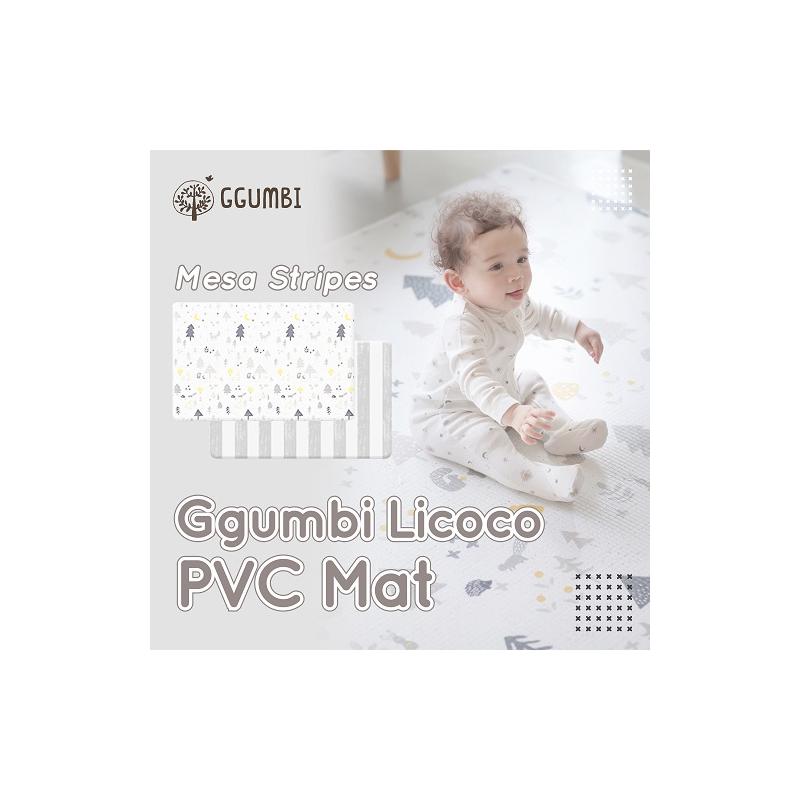 Ggumbi PVC Mesa Stripes - Licoco PVC Play Mat