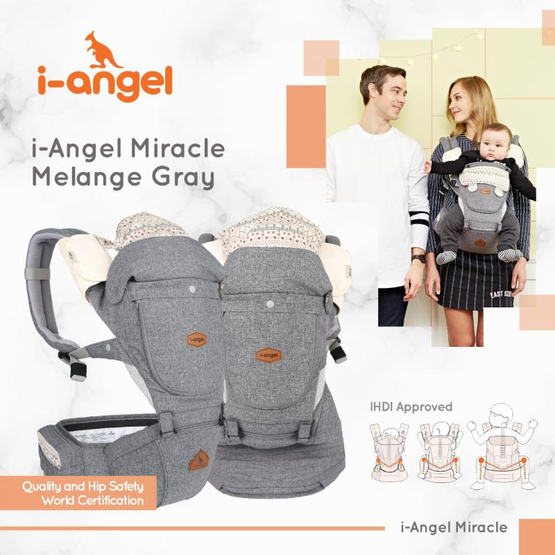 i-Angel Miracle Melange Gray