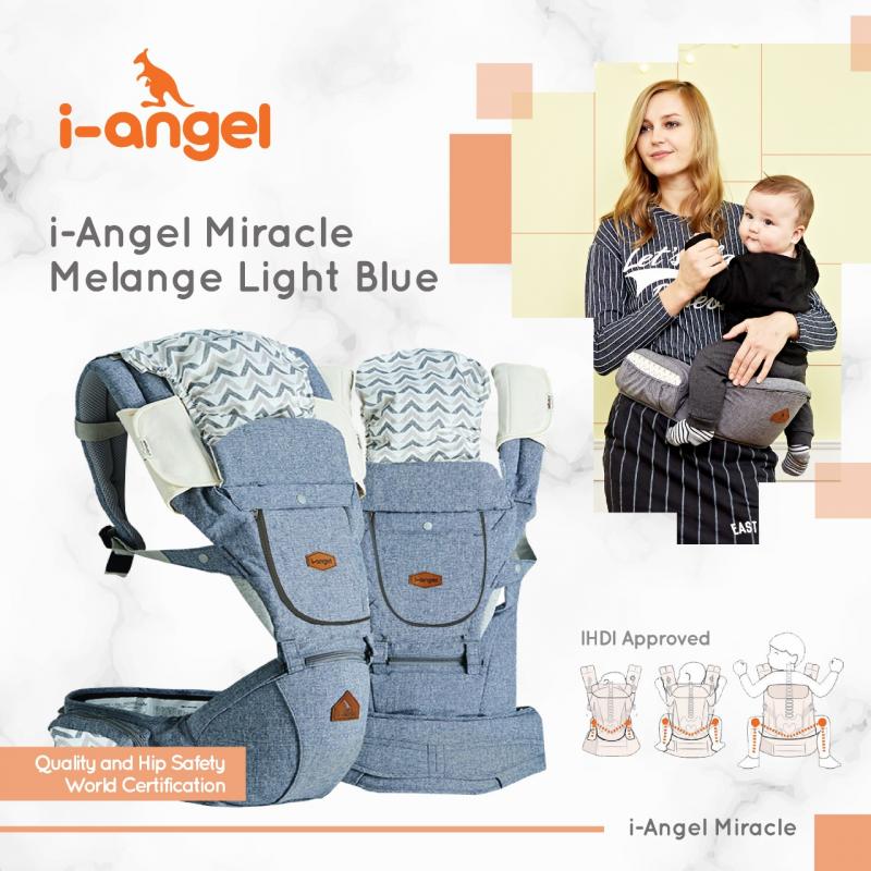 i-Angel Miracle Melange Light Blue