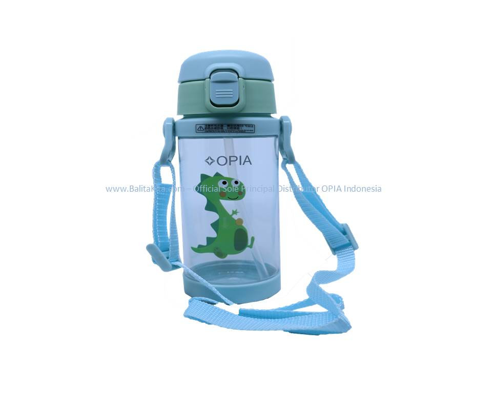 OPIA Kids Bottle Whith Strap Green (TBS350 - Green)