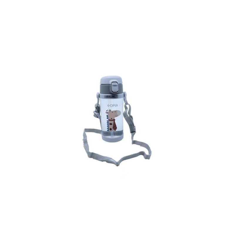 OPIA Kids Bottle Whith Strap Grey (TBS350 - Grey)