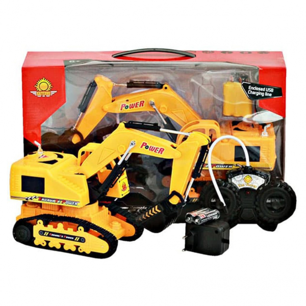 RC Construction Truck Excavator No.6855E