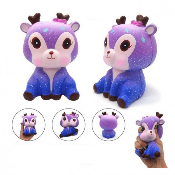 Squishy Jumbo Baby Deer Galaxy