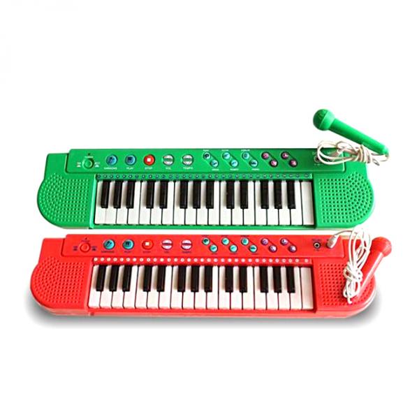 Mainan Techno Piano Karaoke Keyboard T2768