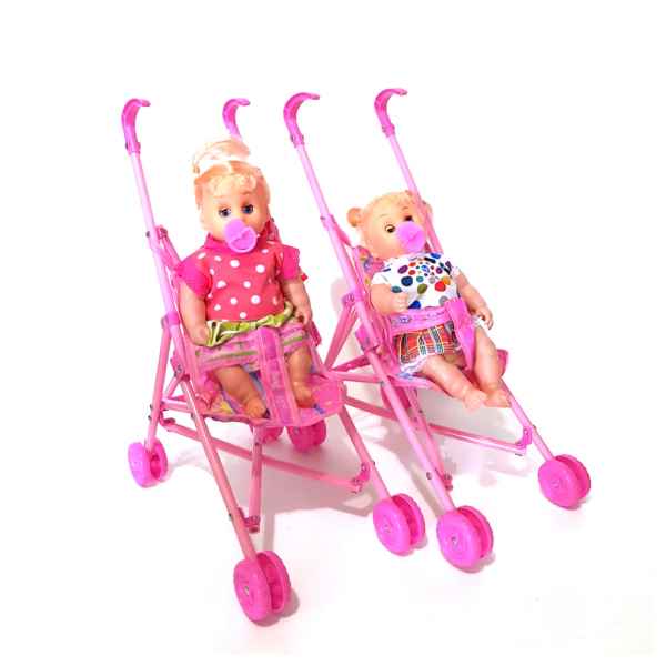 Mainan Boneka Stroller + Doll Crying 821B