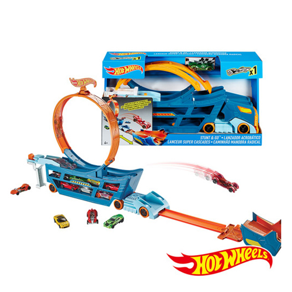 Hot Wheels Track Stunt & Go Truck