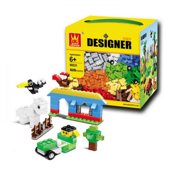 Lego KW Wange Designer 58231 Blocks 625 pcs