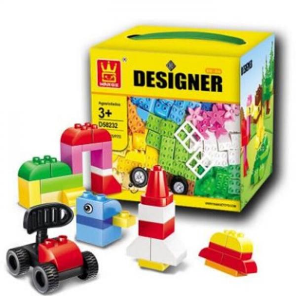 Lego KW Wange Designer 58252 Blocks 72 pcs