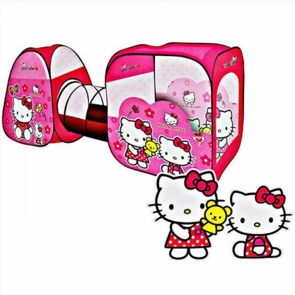 Tenda Terowongan Hello Kitty
