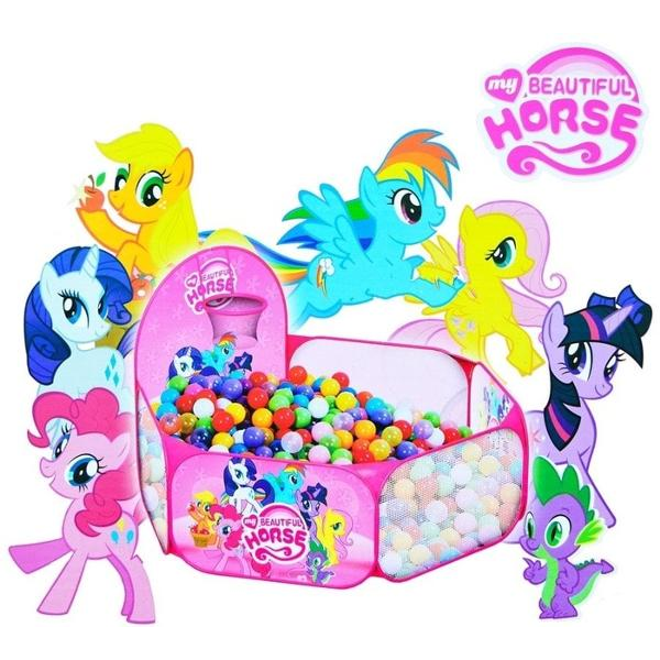 Keranjang Mandi Bola My Little Pony