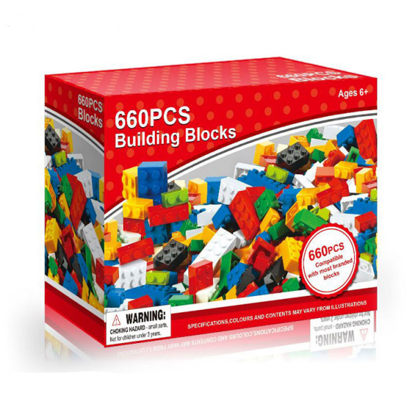 660 pcs Building Blocks BN-0243364