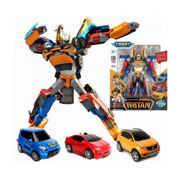 Tobot Transformer Mini Tritan Gabungan X Y Z