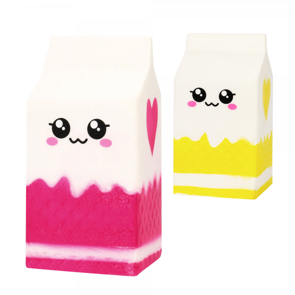 Squishy Milk Carton Box