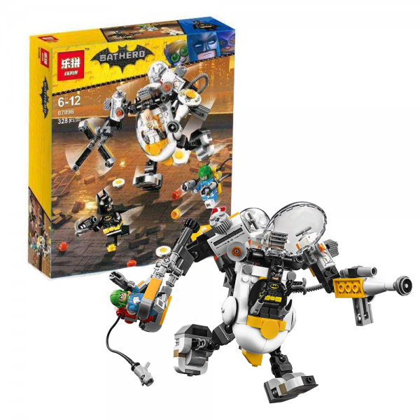 LEPIN Batman Movie 07096 Egghead Mech Food Fight Lego KW