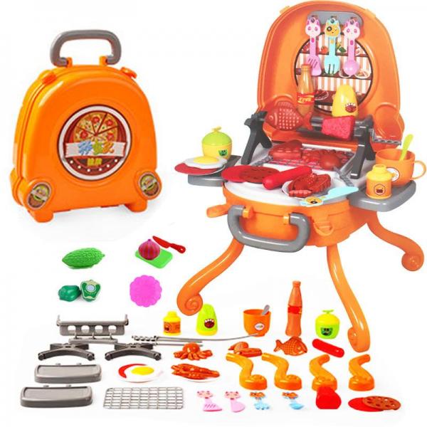 Mainan Jualan Hamburger Shop 6665-1