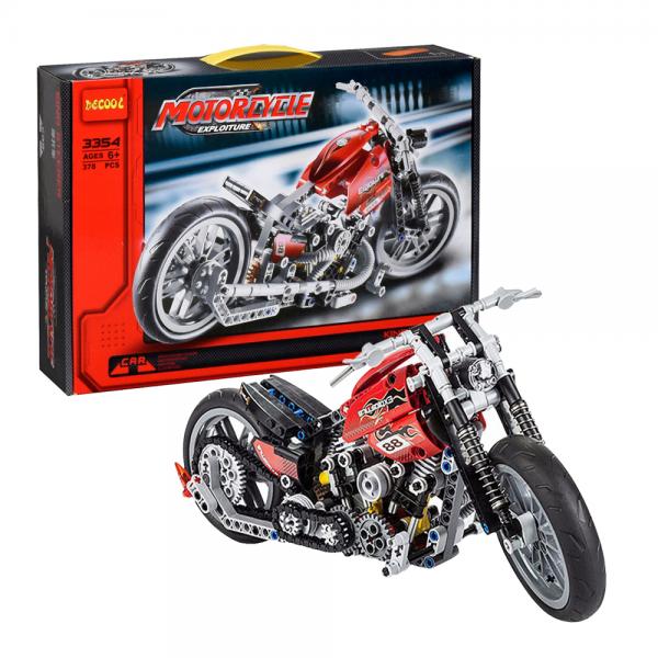 DECOOL Technic 3354 Harley Davidson Lego KW