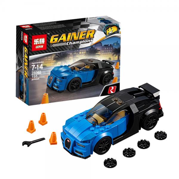 LEPIN Champions 28002 Bugatti Chiron Lego KW