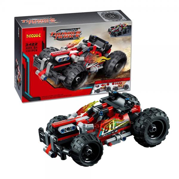 DECOOL Technic 3422 Thunder Whack Lego KW