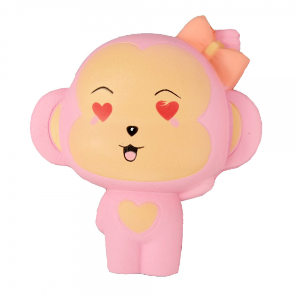 Squishy Lovely Pink Monkey