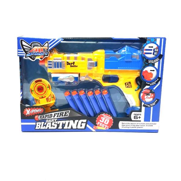Rapid Fire Dart Blasting Gun