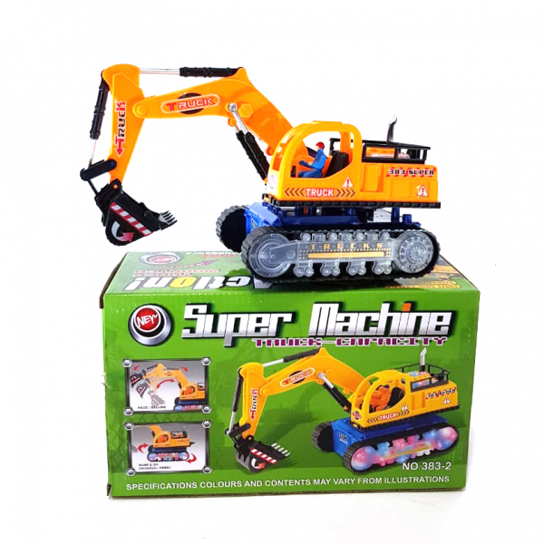 Mainan Construction Excavator Super Machine 383-2