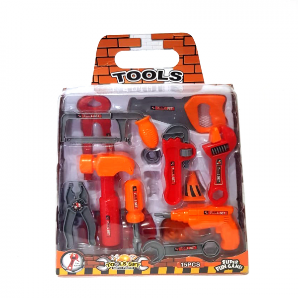 Tools Set Super Power 15pcs 7024