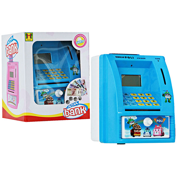 Mainan Edukasi Celengan ATM Robocar Poli